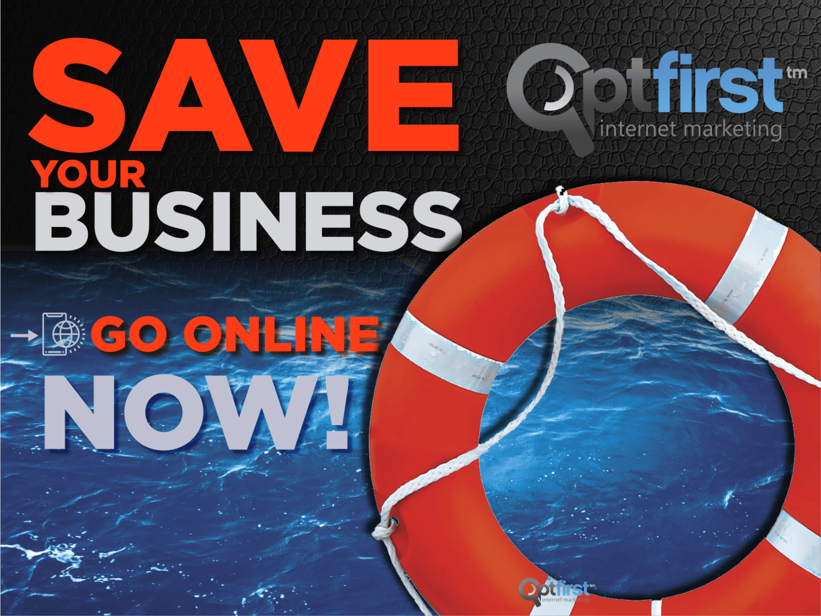 Save your business, Go Online Now!