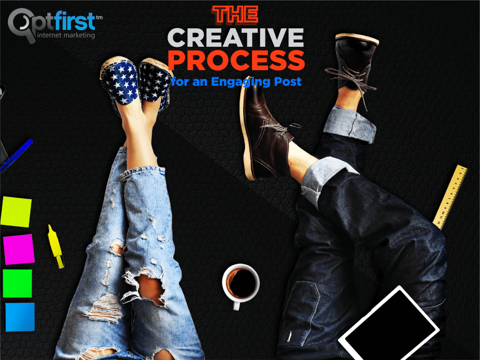 The Creative Process for an Engaging Post.