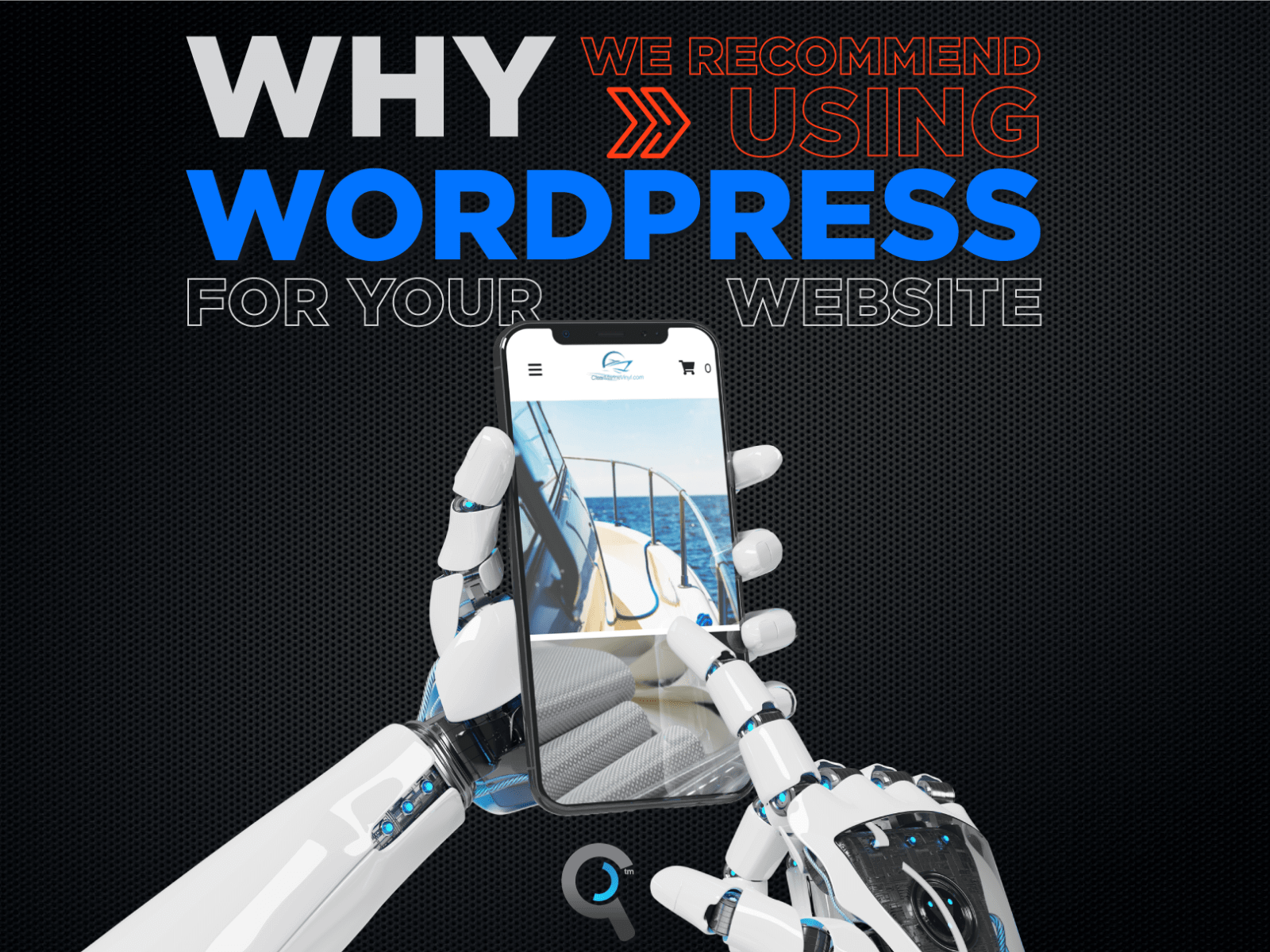 Why we recommend using WordPress: