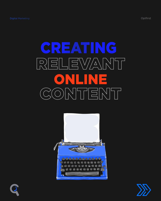 Creating Relevant Online Content