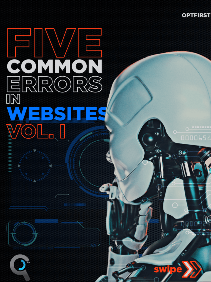 Five Common Errors in Website Vol I.