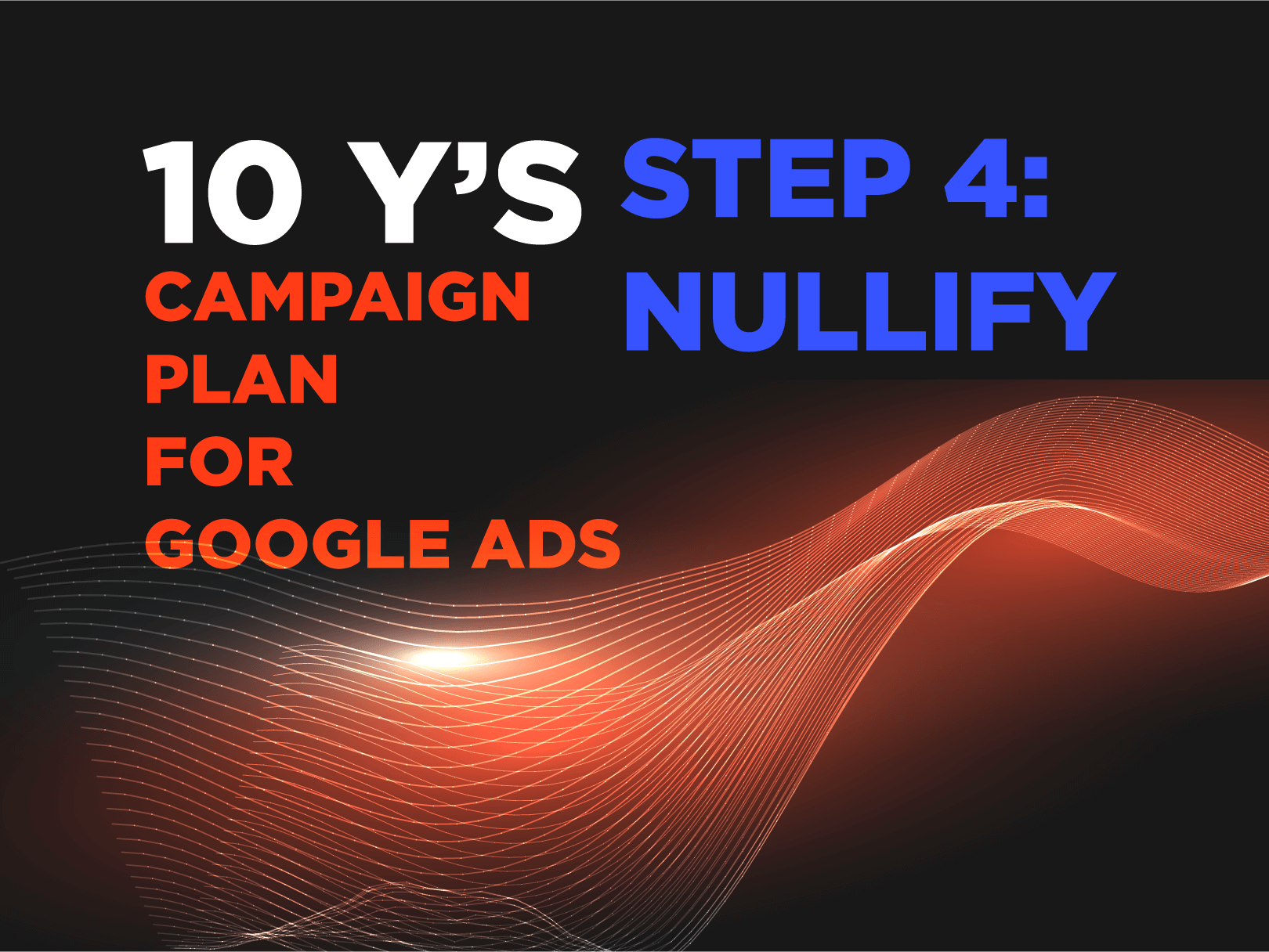 SEM Campaigns: 10 Y's Campaign Plan for Google Ads