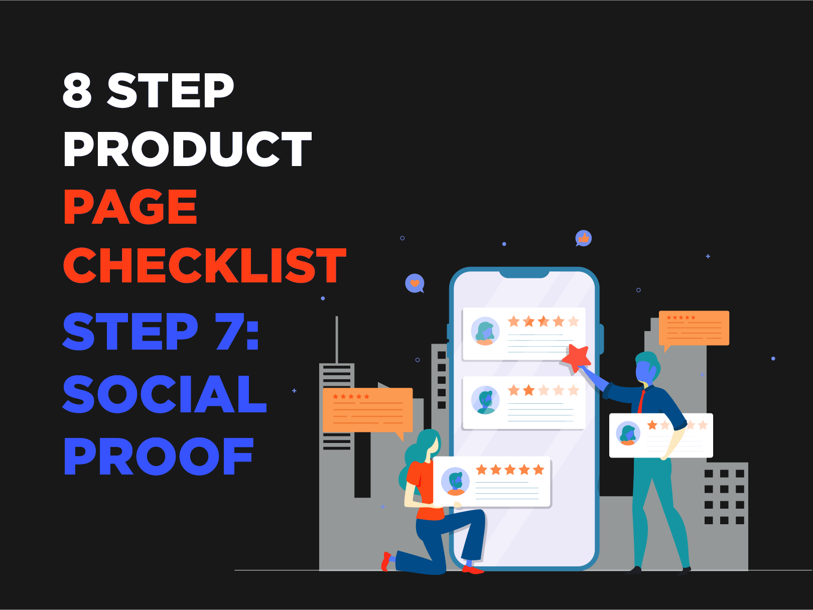 8 Step Product Page Checklist – Step 7: Social Proof