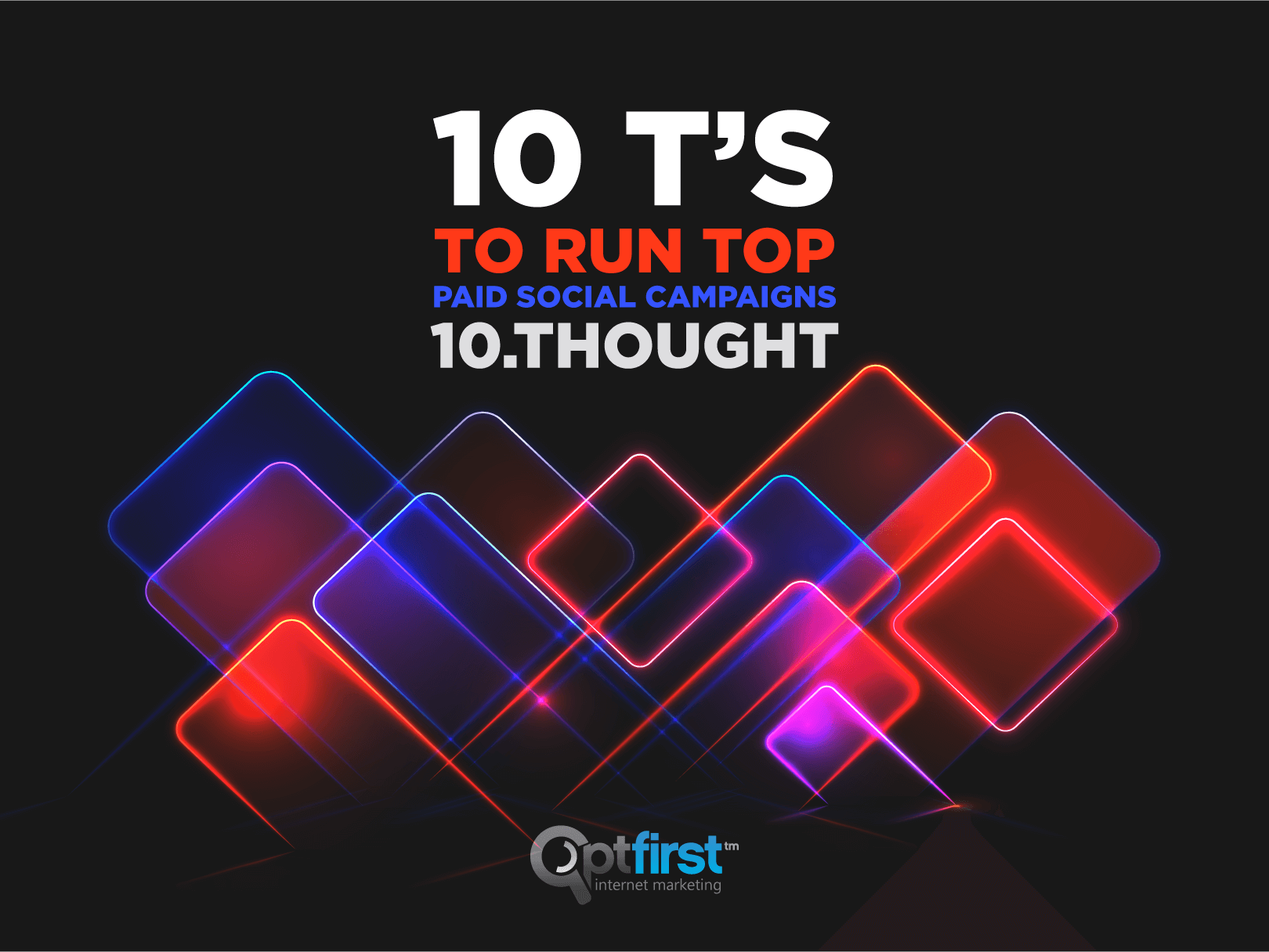 10 T's to Run Top Paid Social Campaigns, Step 10: Thought
