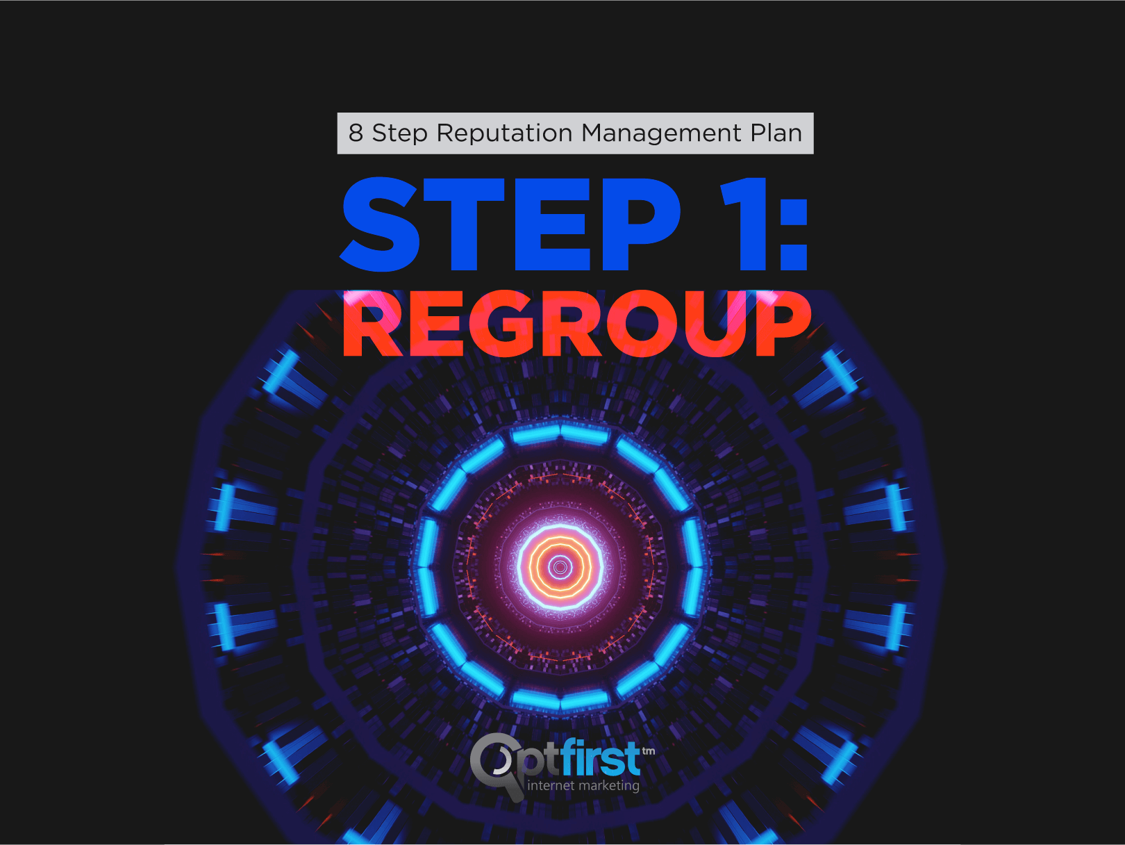 8 Step Reputation Management Plan Step 1:Regroup